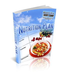 Nutrition Plan ebook cover