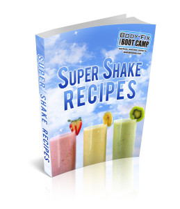 Shake recipe book cover